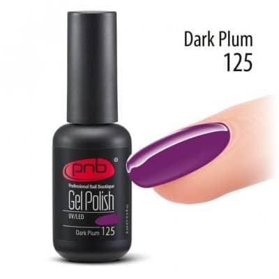 Gel polish-ημιμονιμο βερνικι Dark Plum 8 ml