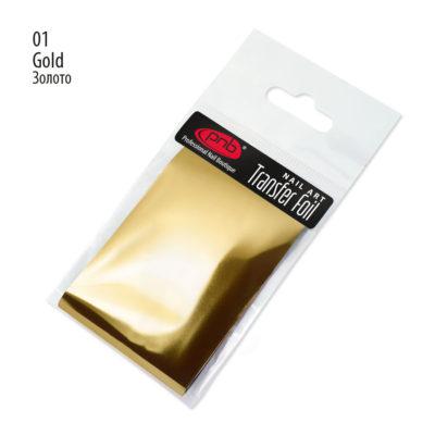 Αλουμινόχαρτο PNB 01 Gold