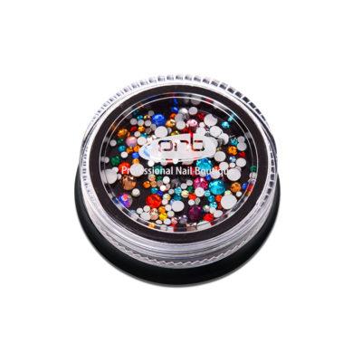 Rhinestones glass PNB Colorful mix size