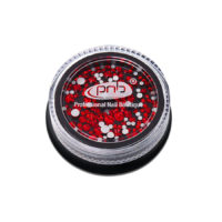 Rhinestones glass PNB Red mix size