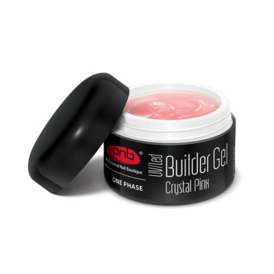 UV/LED One Phase Builder Gel Crystal Pink PNB 50ml
