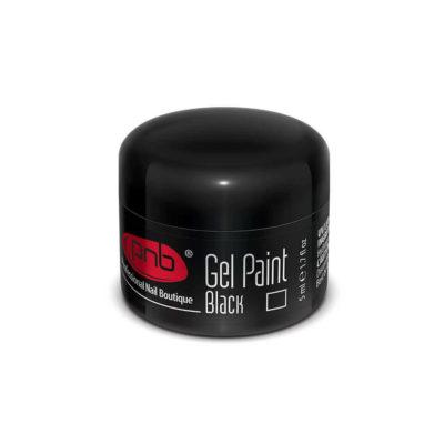 UV/LED Gel Paint 02 Black PNB, 5 ml