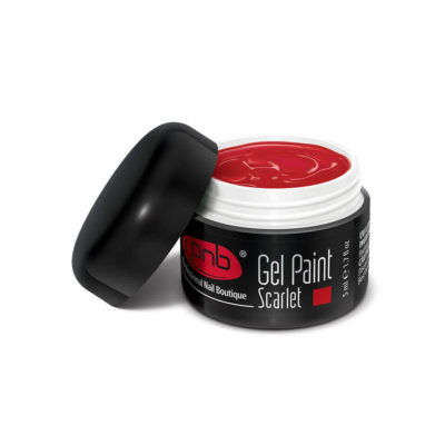 UV/LED Gel Paint 04 Scarlet PNB, 5 ml