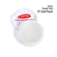 Glitter Powder Sand 01 Gold Peach