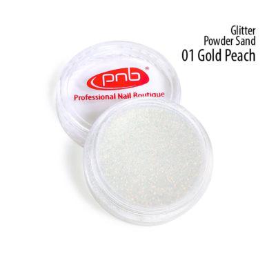 Glitter Powder Sand 01 Gold Peach