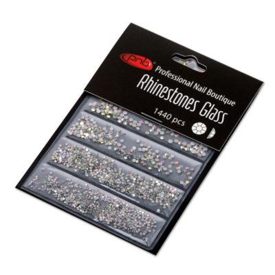 Rhinestones glass PNB AB mix size