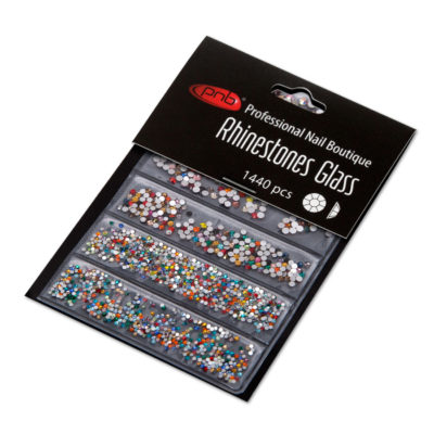 Rhinestones glass PNB Colorful mix size