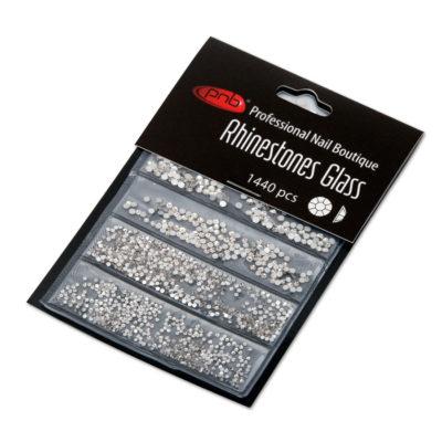 Rhinestones glass PNB Crystal mix size