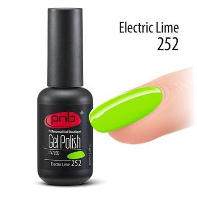 Gel polish-ημιμονιμο βερνικι Electric Lime 8 ml