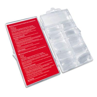 Φόρμες για Ακρυλικό Gel PNB Double Flex Acrygel Tips 100τμχ