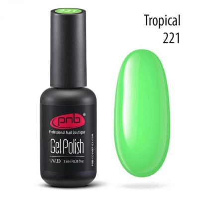 Ημιμόνιμο βερνικι Tropical 8 ml