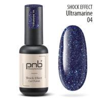 Ημιμόνιμο βερνίκι PNB SHOCK EFFECT,ULTRAMARINE 04