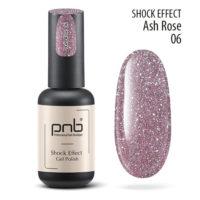 Ημιμόνιμο βερνίκι PNB SHOCK EFFECT,ASH ROSE 06